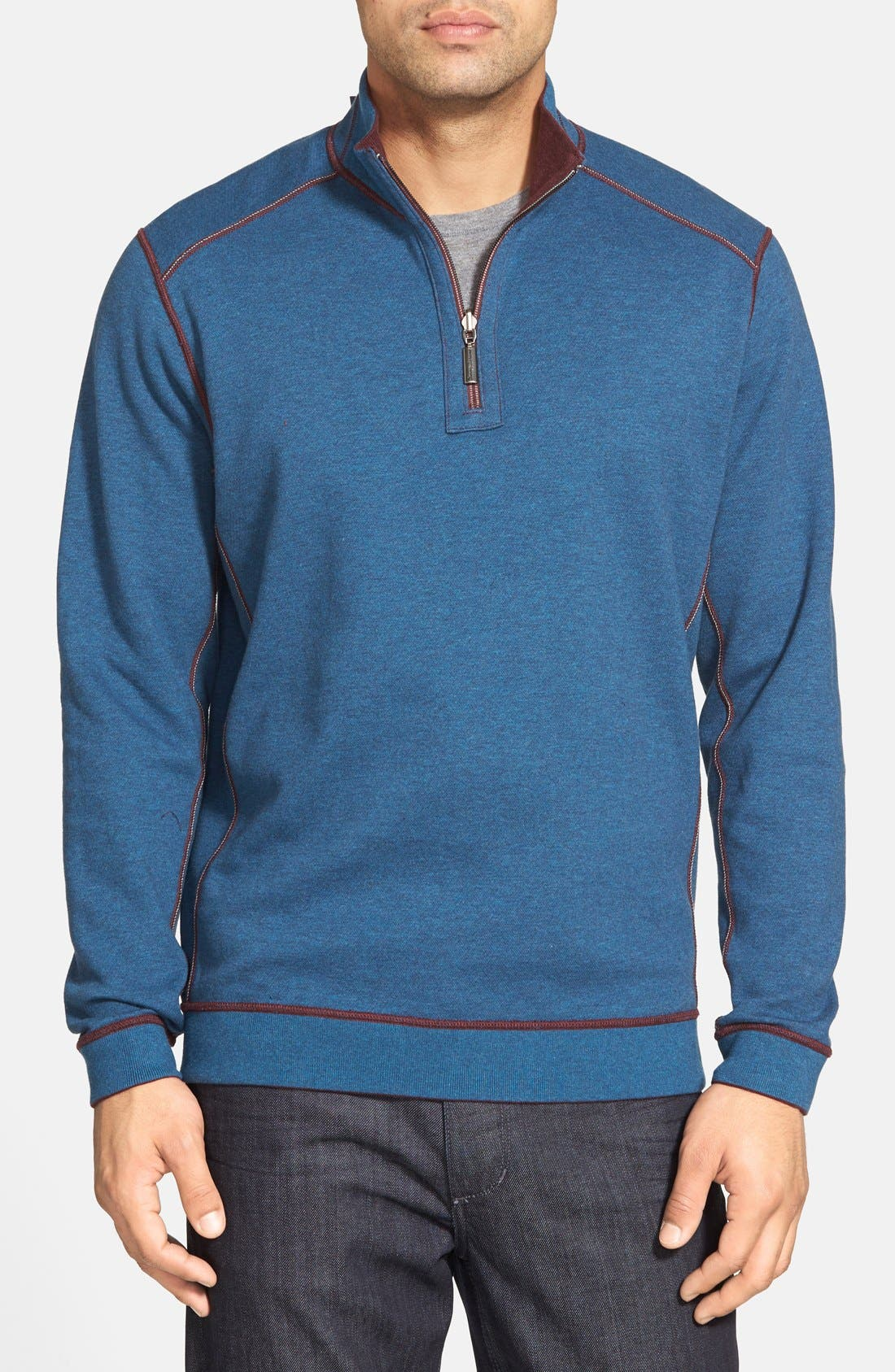,                             'Flip Side' Reversible Quarter Zip Pullover,                             Alternate thumbnail 84, color,                             501