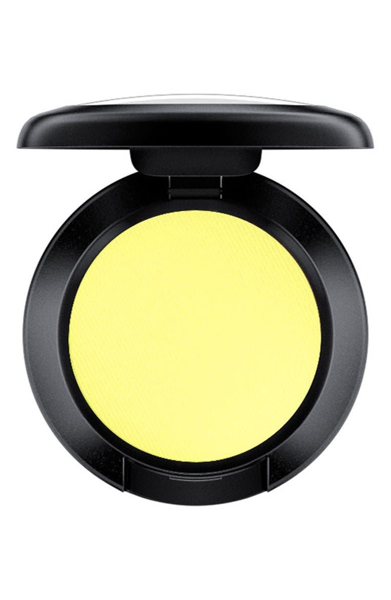 MAC COSMETICS MAC Blue/Green Eyeshadow, Main, color, SHOCK FACTOR (M)