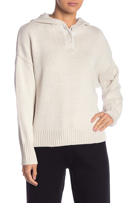 Image of 360 Cashmere Lillian Hooded Pullover