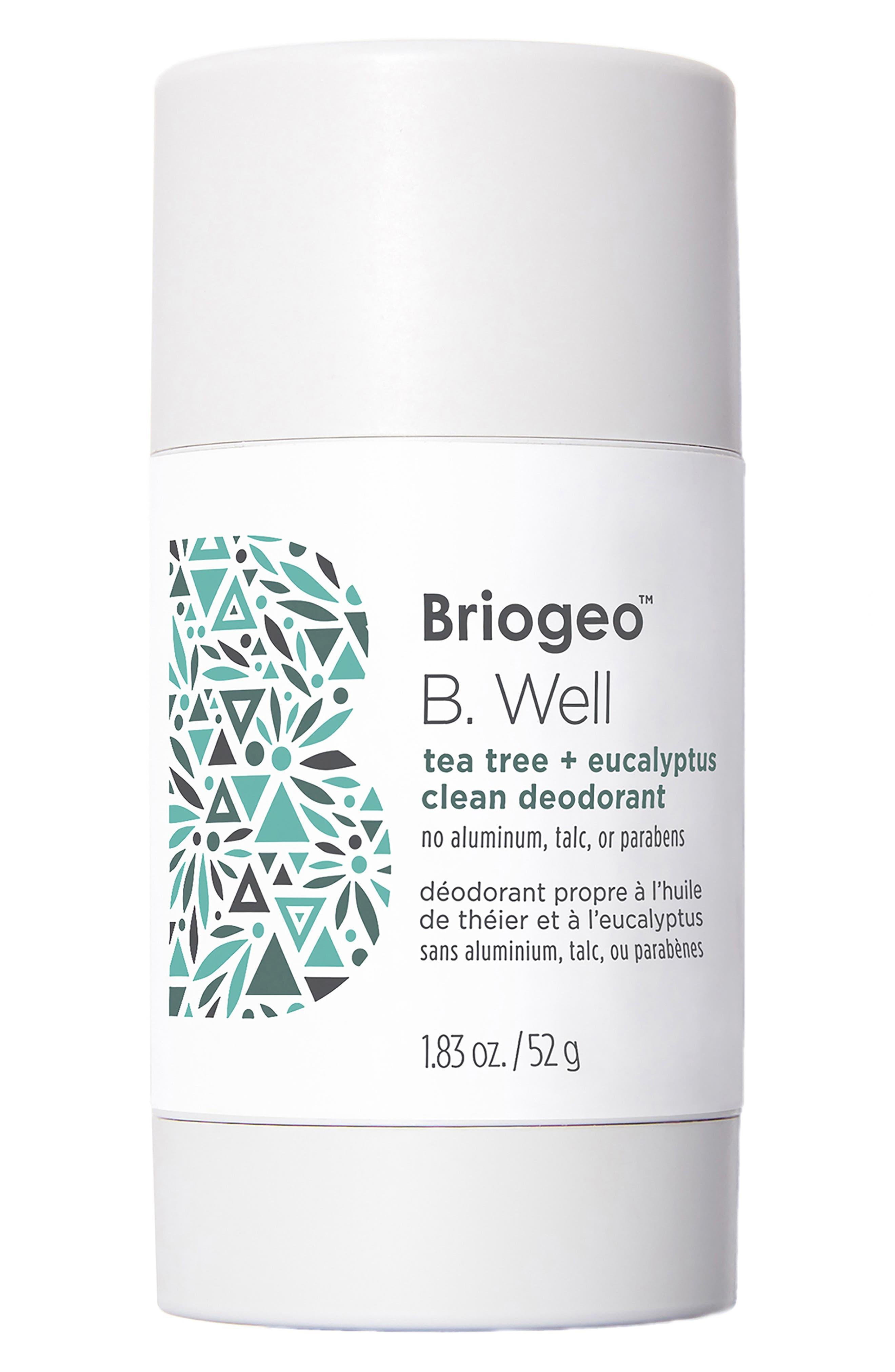 B. Well Tea Tree + Eucalyptus Clean Deodorant