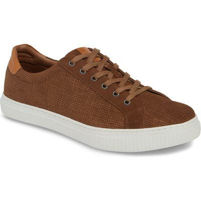 J & m 1850 Toliver Low Top Sneaker- Brown