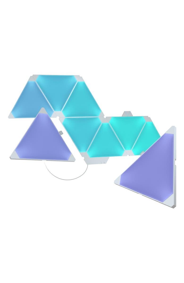 NANOLEAF 9-Piece Rhythm Edition Smarter Kit, Main, color, MULTI
