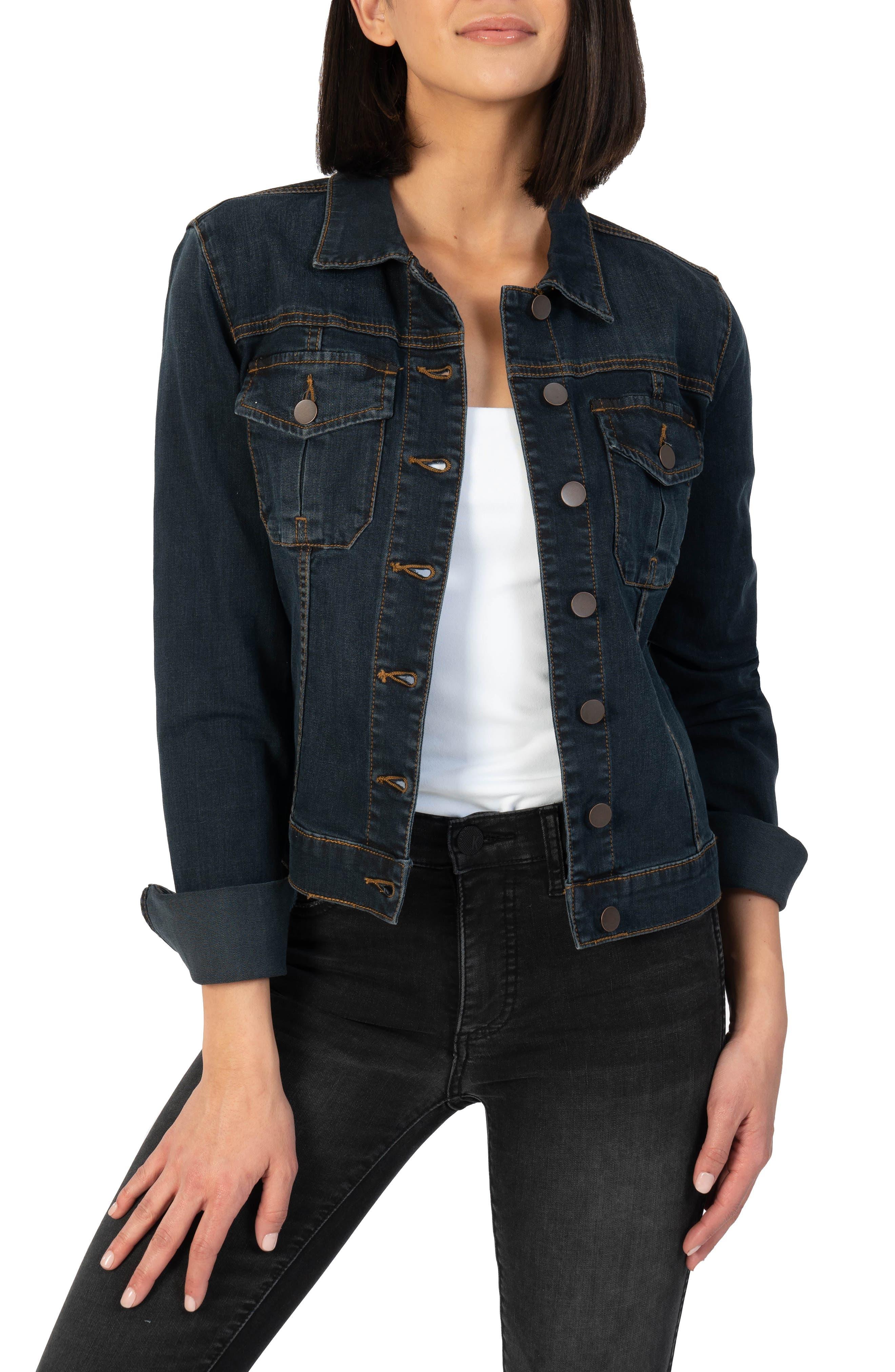 Amelia Crop Denim Jacket