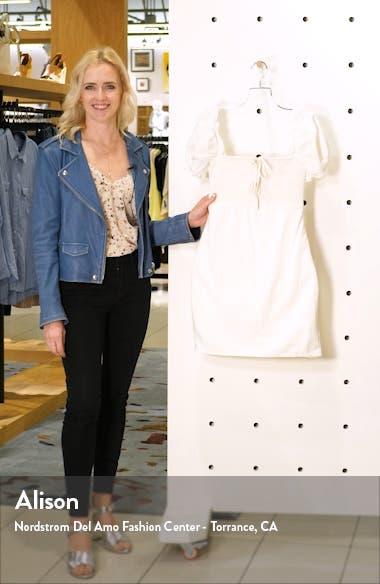 Bea Square Neck Minidress, sales video thumbnail