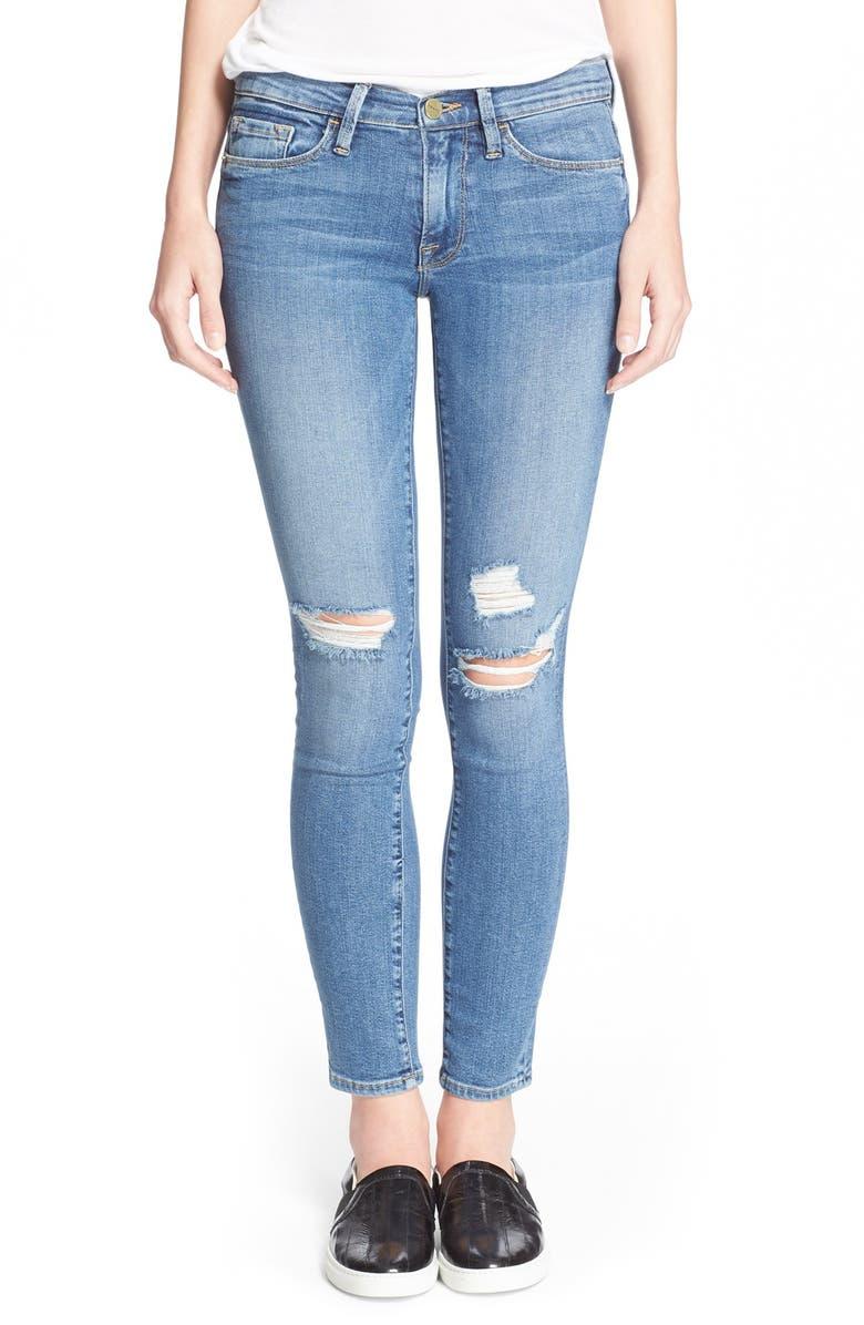 FRAME 'Le Skinny de Jeanne' Jeans, Main, color, 402