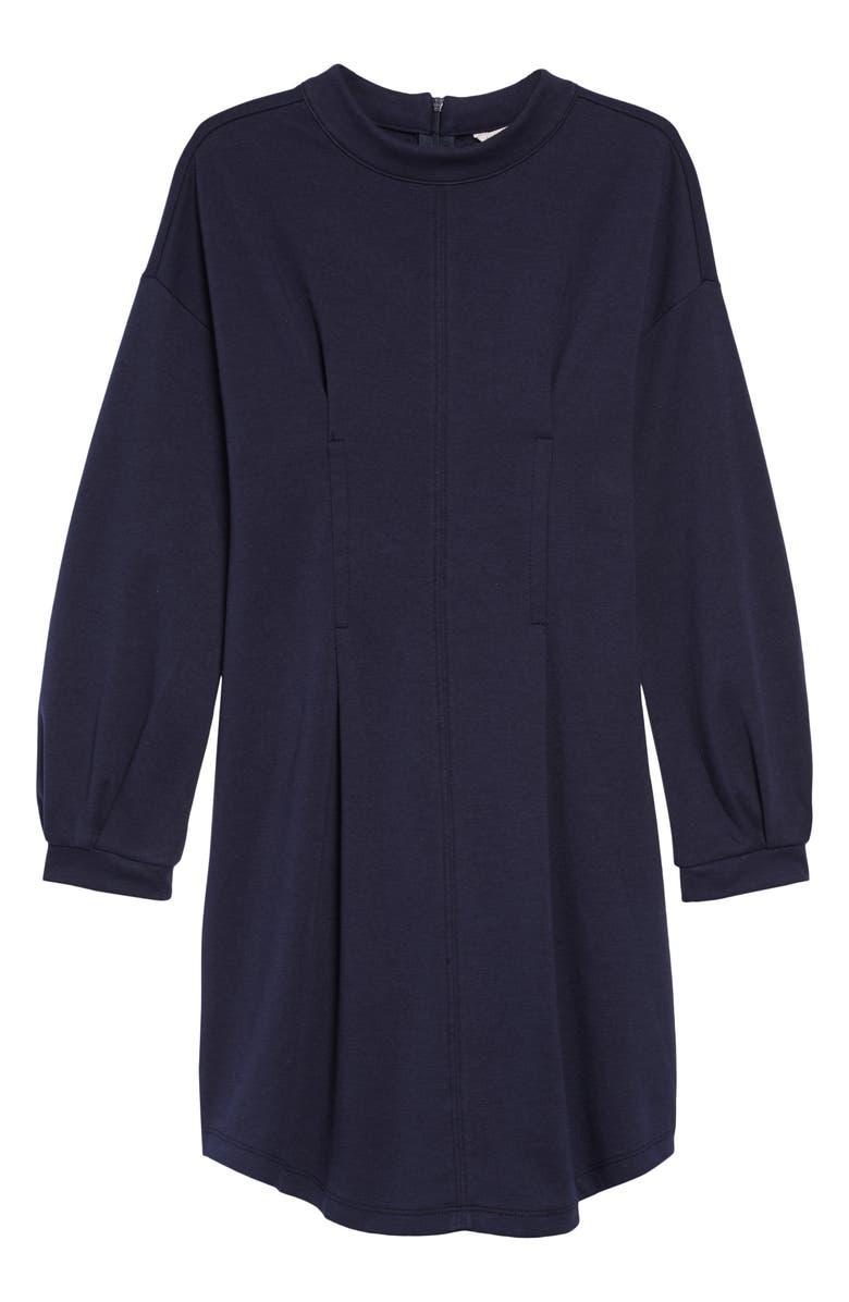 HABITUAL Kaydence Ponte Dress, Main, color, NAVY