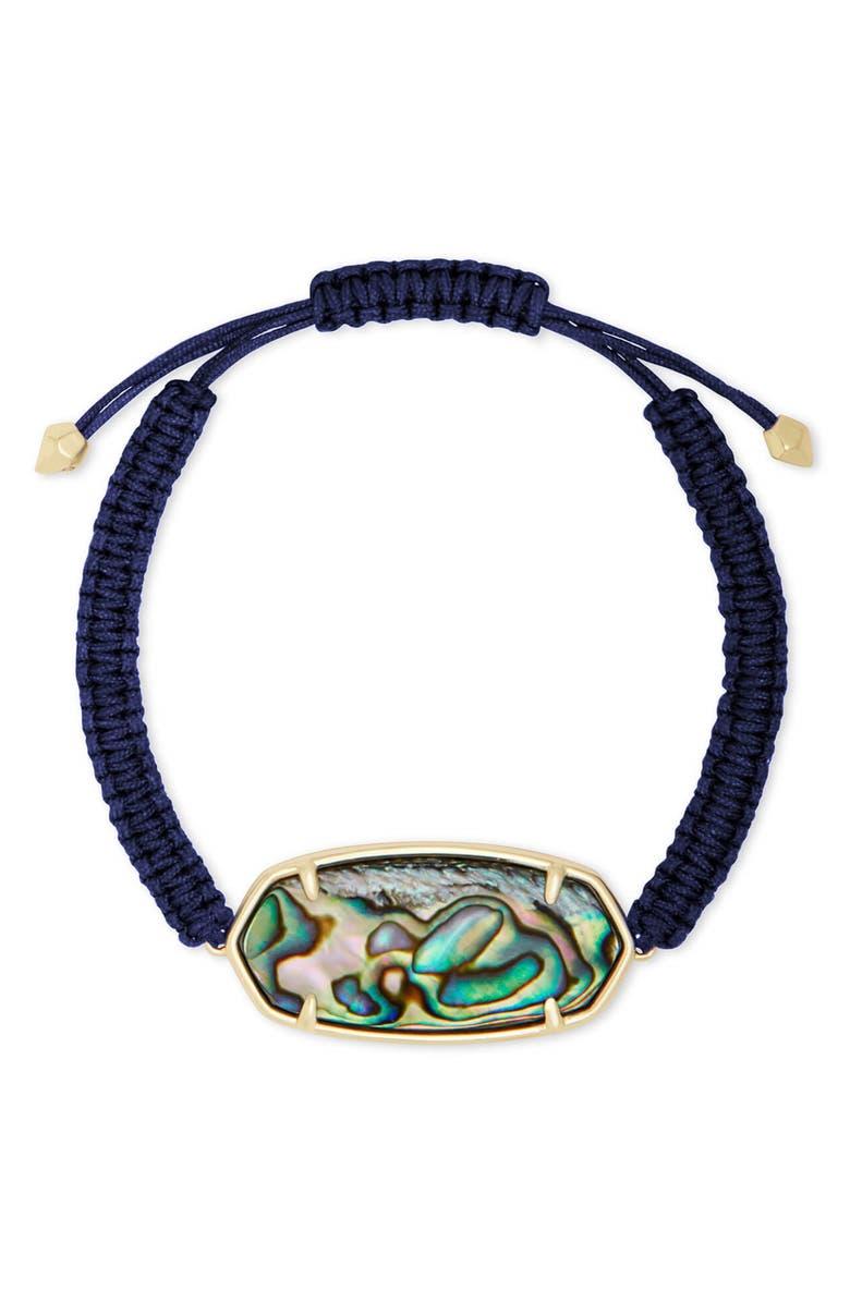 KENDRA SCOTT Elle Friendship Bracelet, Main, color, GOLD/ ABALONE SHELL