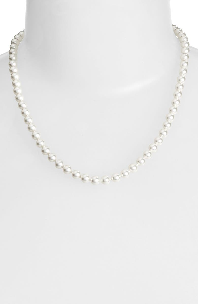 NADRI ImitationPearl Collar Necklace, Main, color, 040