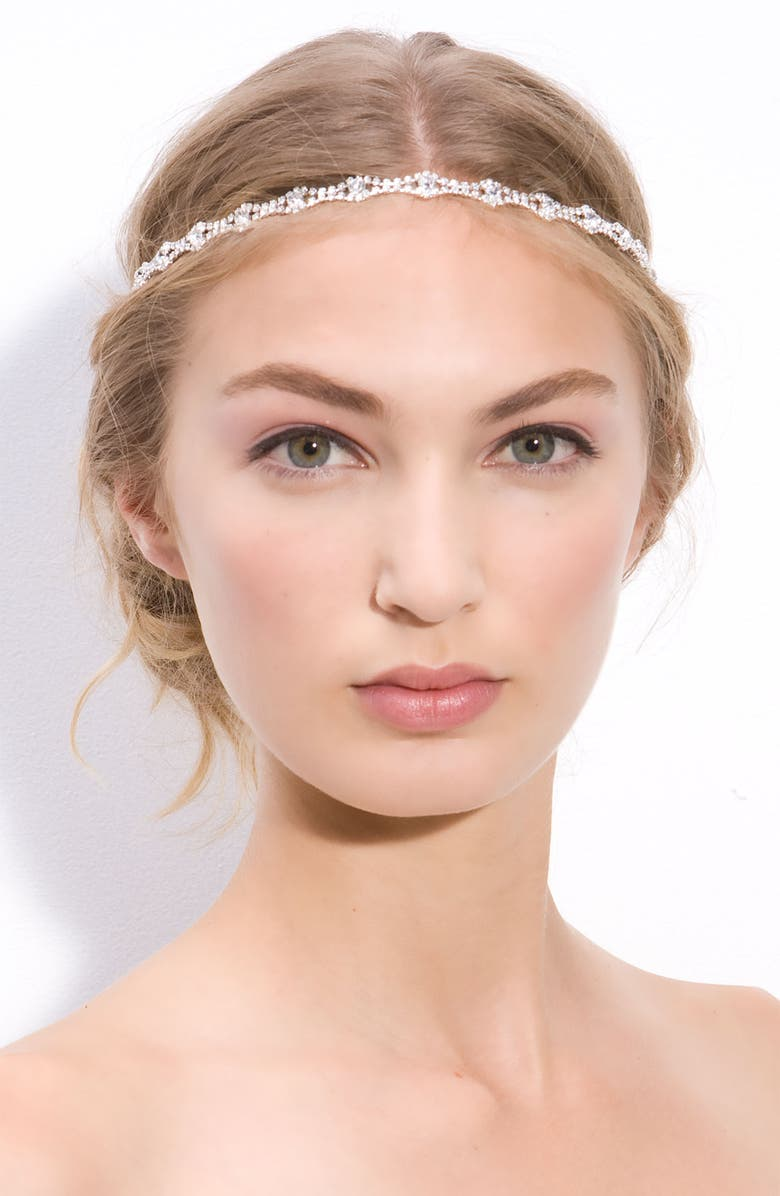 TASHA Vintaged Crystal Headband, Main, color, 040