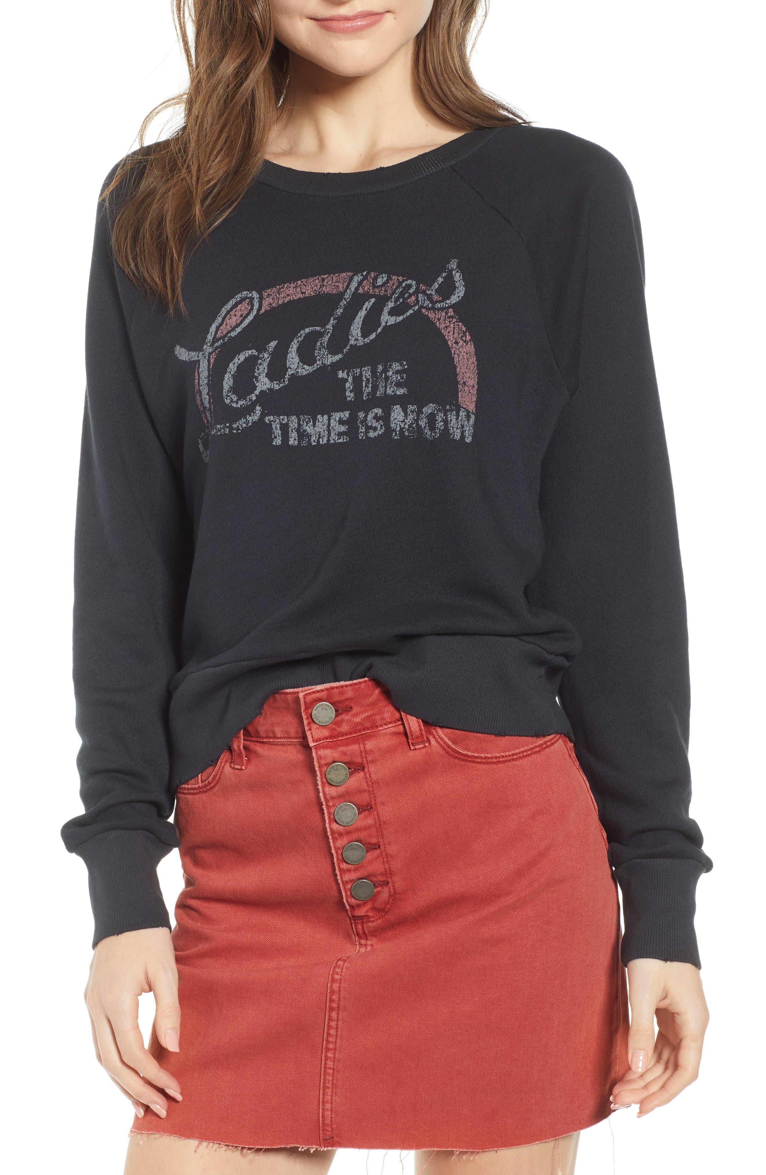 Paige Lizeth Sweatshirt, Black