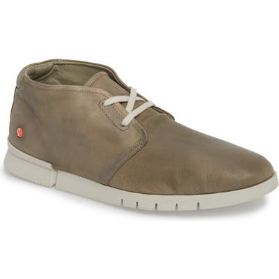 Softinos By Fly London Coi Chukka Boot, Grey