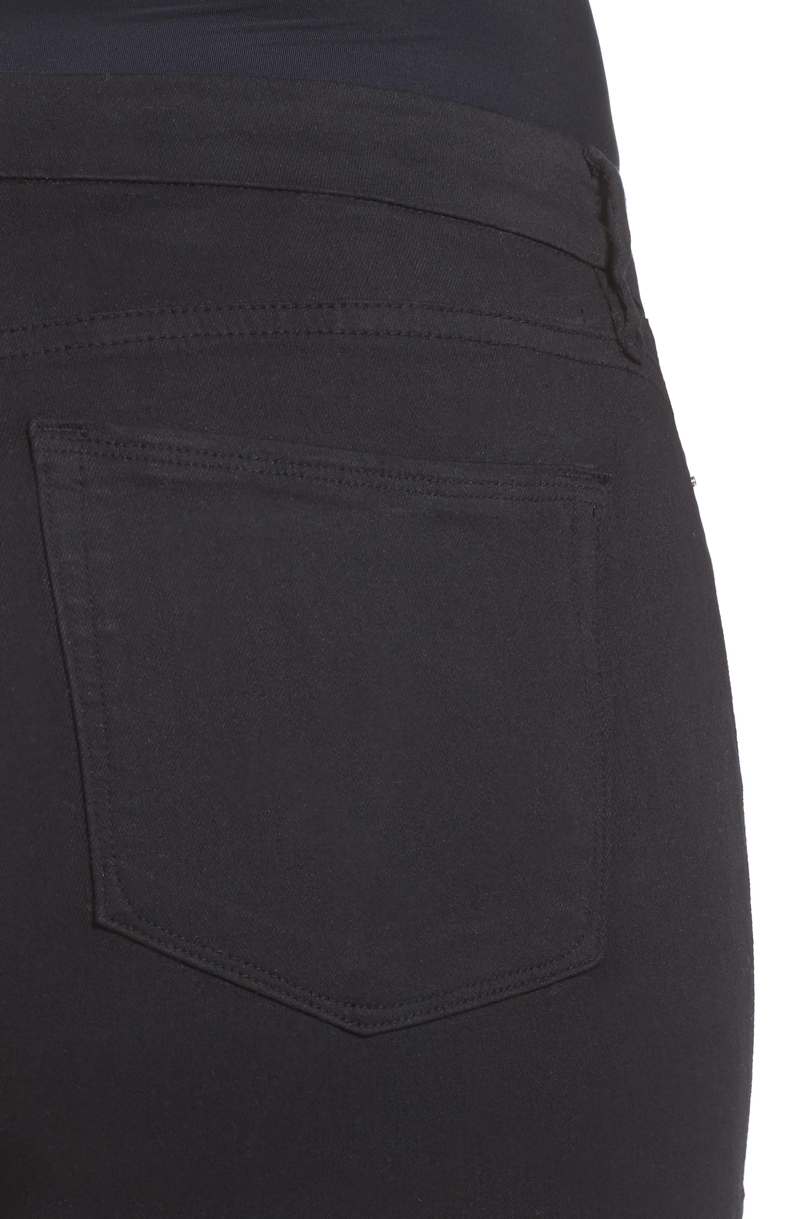 ,                             Good Legs High Rise Skinny Jeans,                             Alternate thumbnail 11, color,                             BLACK 001