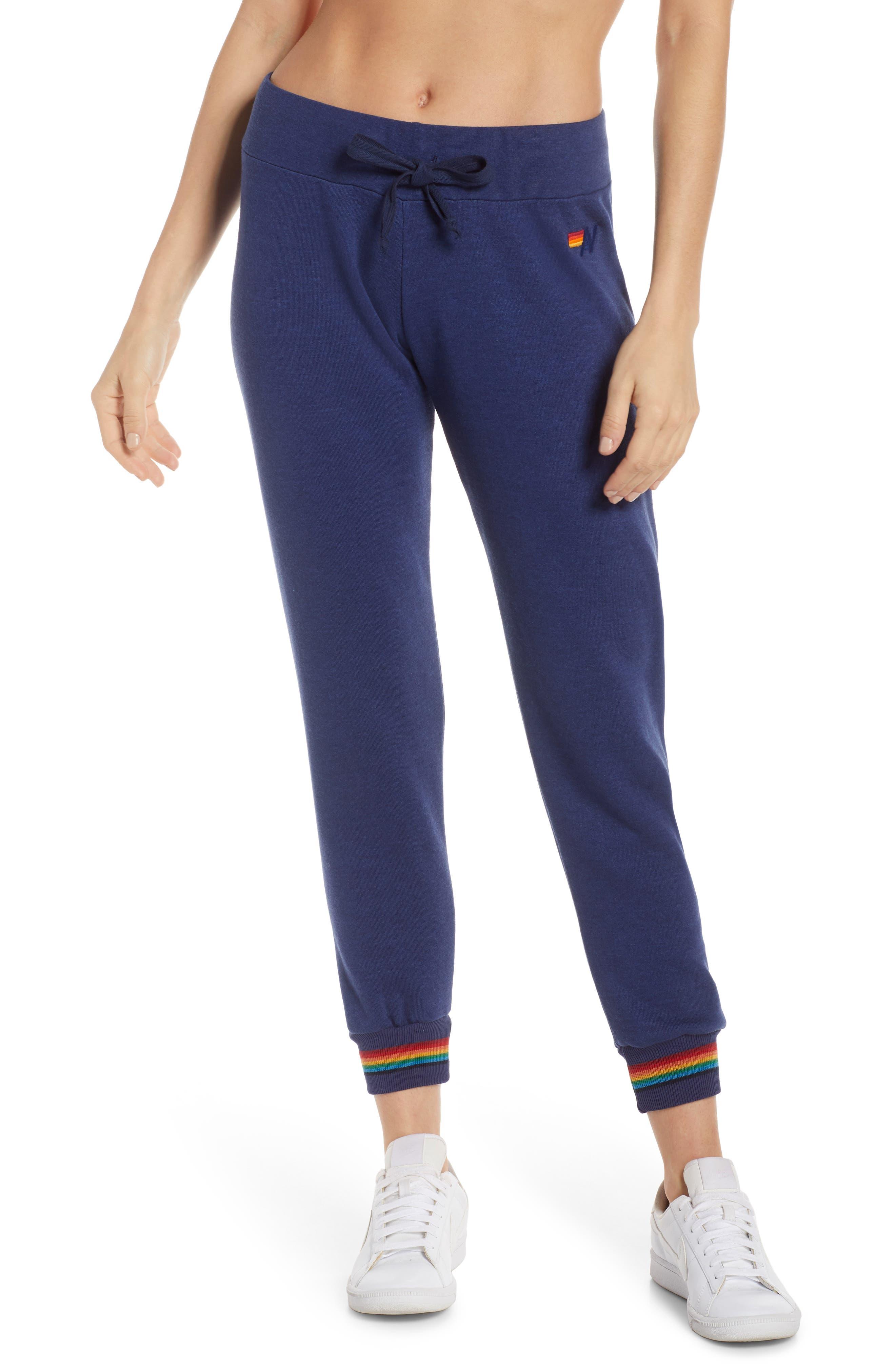 Aviator Nation Prism Sweatpants, Blue
