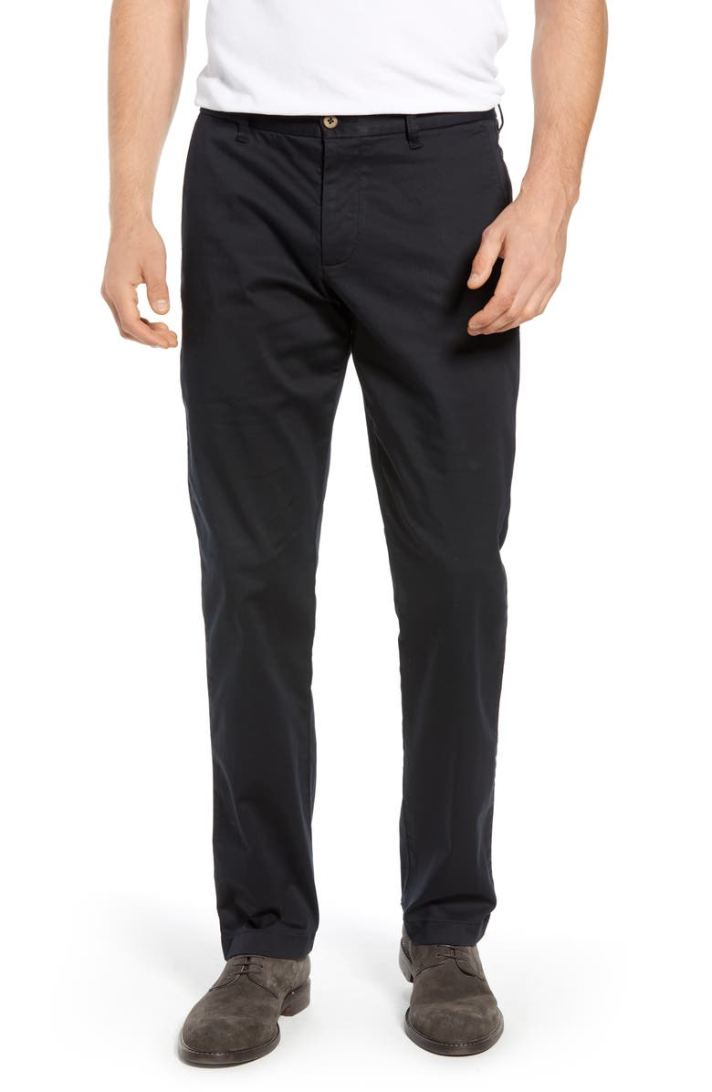 TOMMY BAHAMA Boracay Straight Leg Chinos, Main, color, BLACK