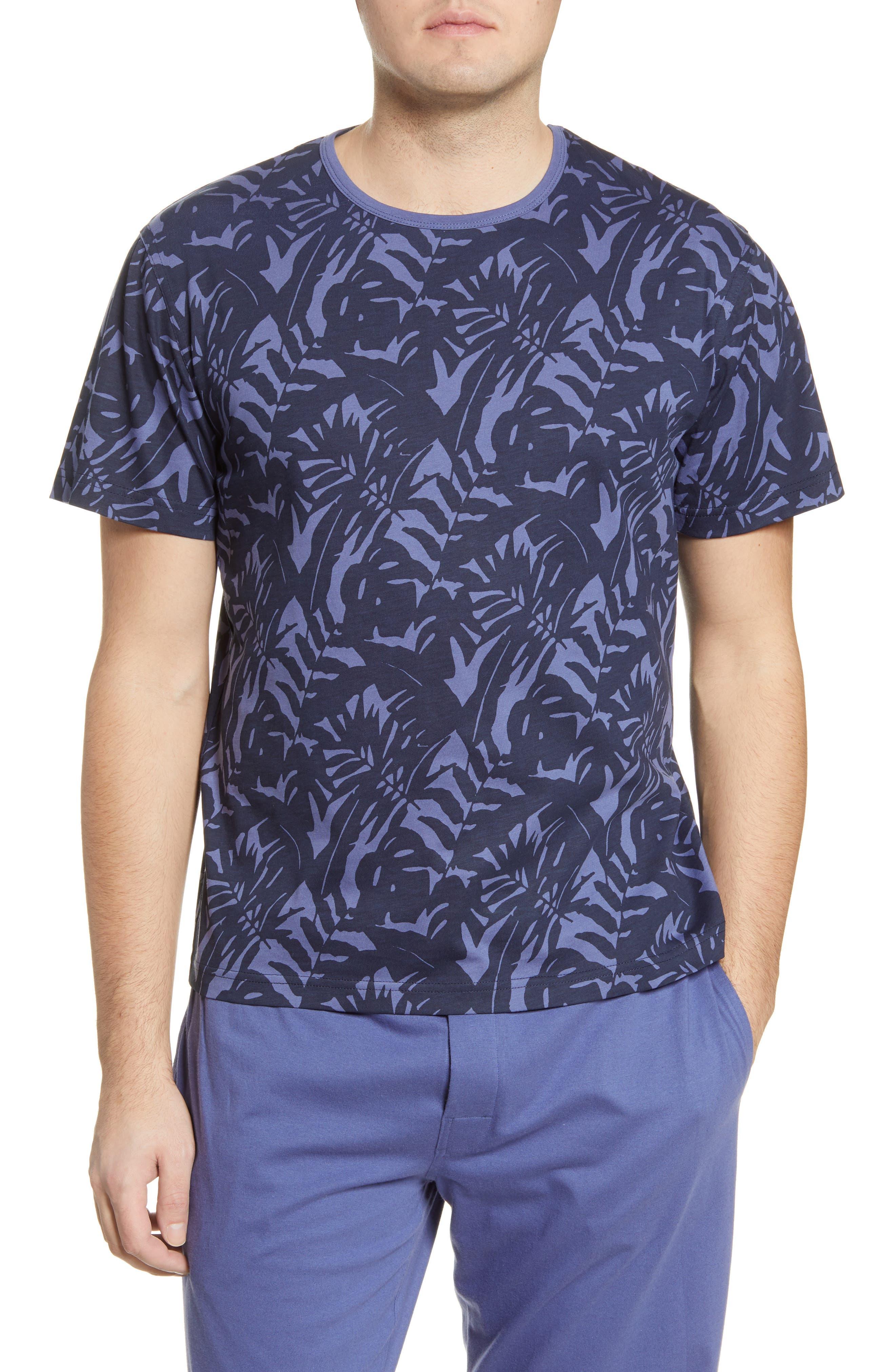 Men's Majetic International Botanical Print T-Shirt