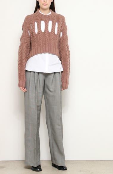 Inga Cashmere Crop Sweater, video thumbnail