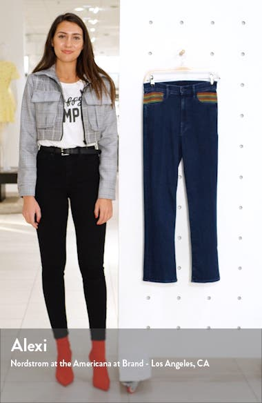 The Smooth Hustler High Waist Crop Flare Jeans, sales video thumbnail