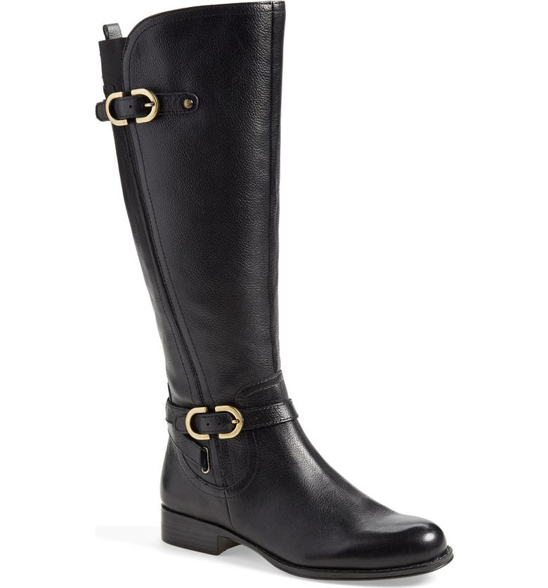 NATURALIZER 'Jennings' Knee High Boot, Main, color, 001