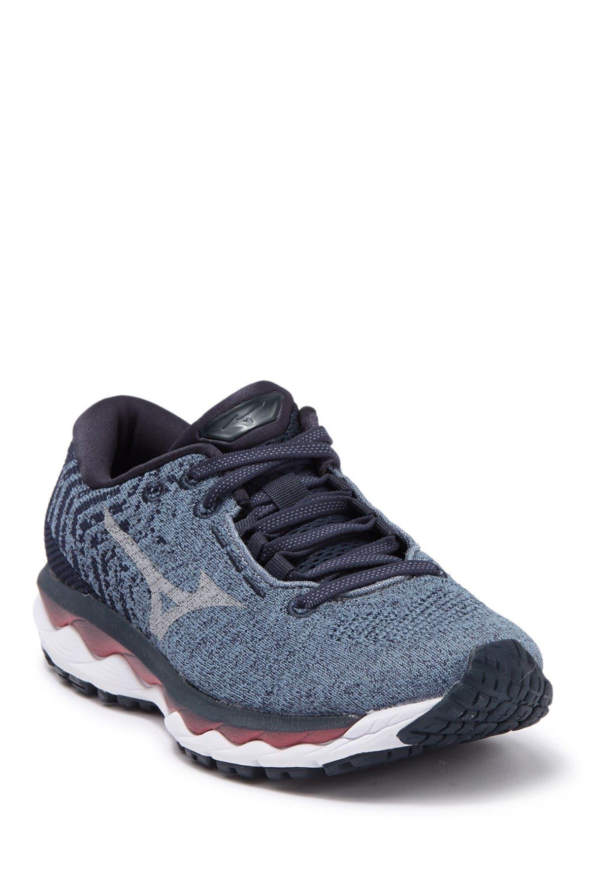 Image of Mizuno Wave Sky 3 Waveknit Running Sneaker