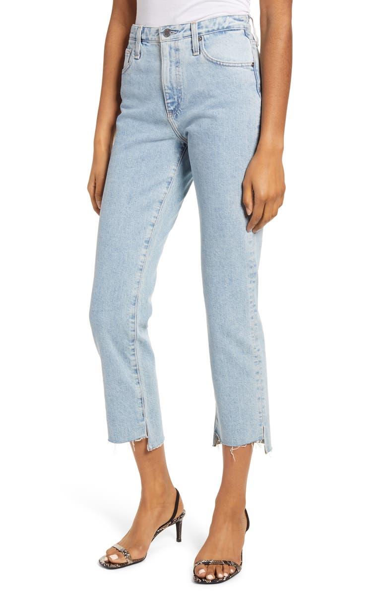 AG The Isabelle High Waist Step Hem Ankle Jeans, Main, color, 487