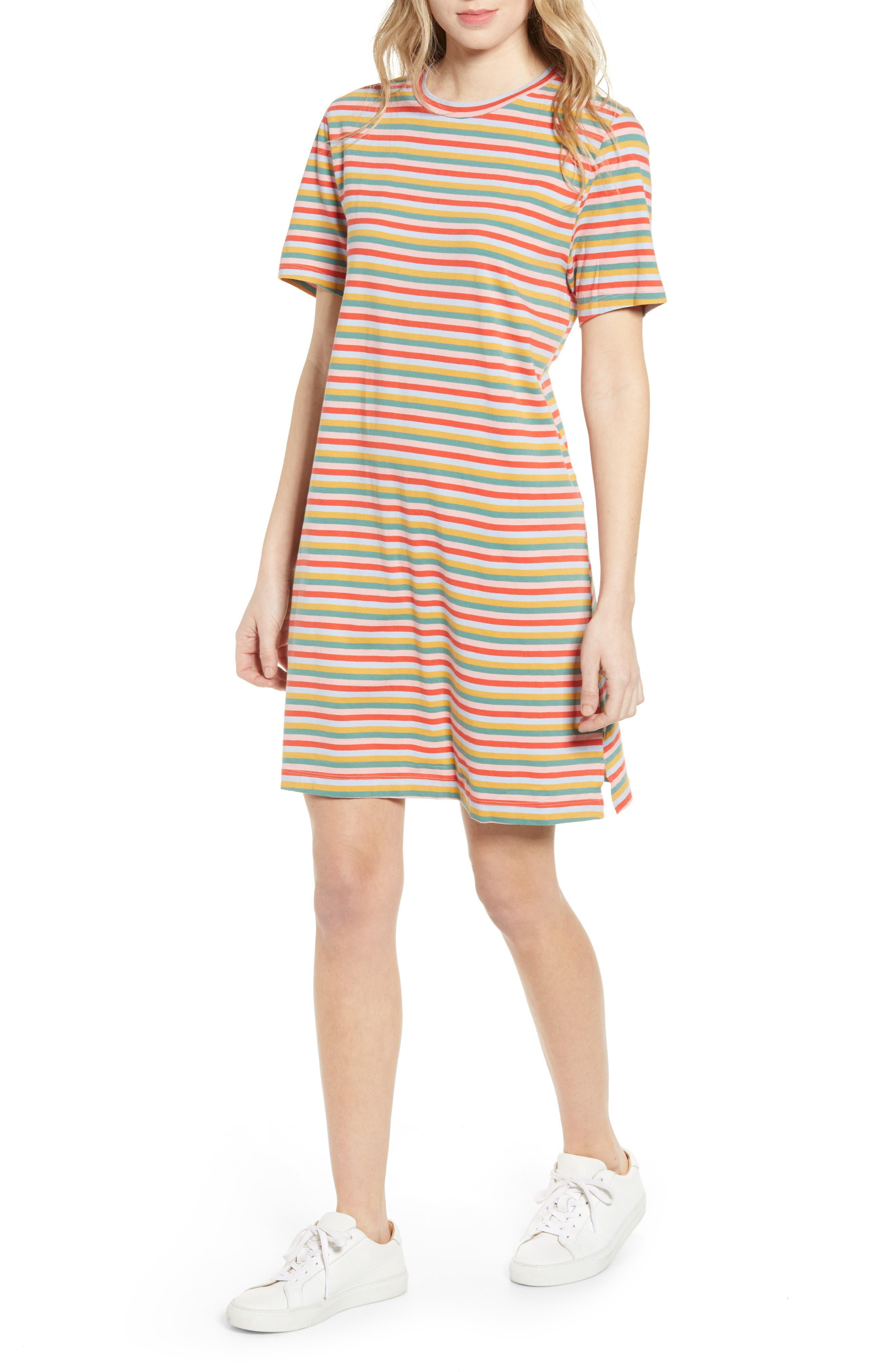 Women's Ban. do Vintage Stripe T-Shirt Dress