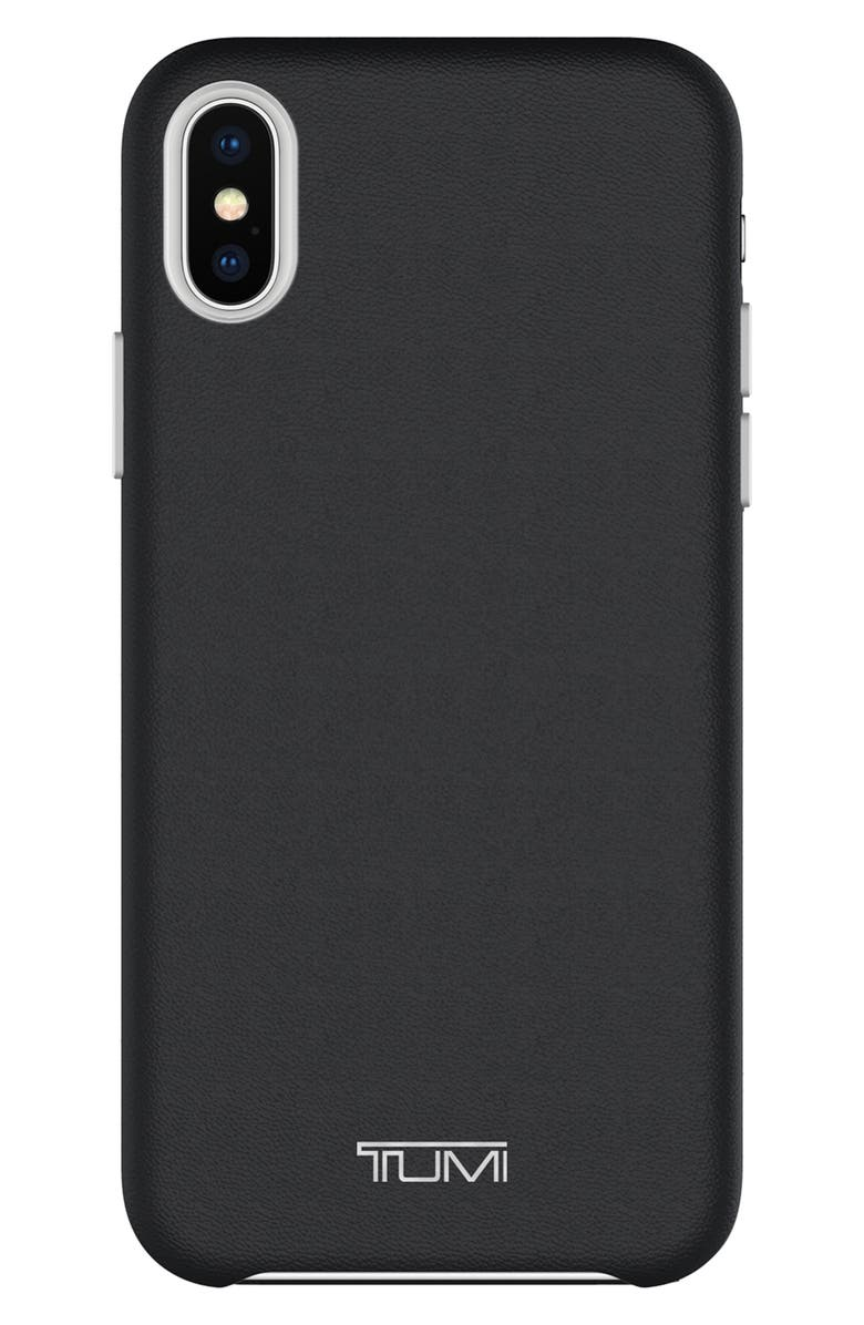 competitive price 1fd45 8348e Leather iPhone X Case