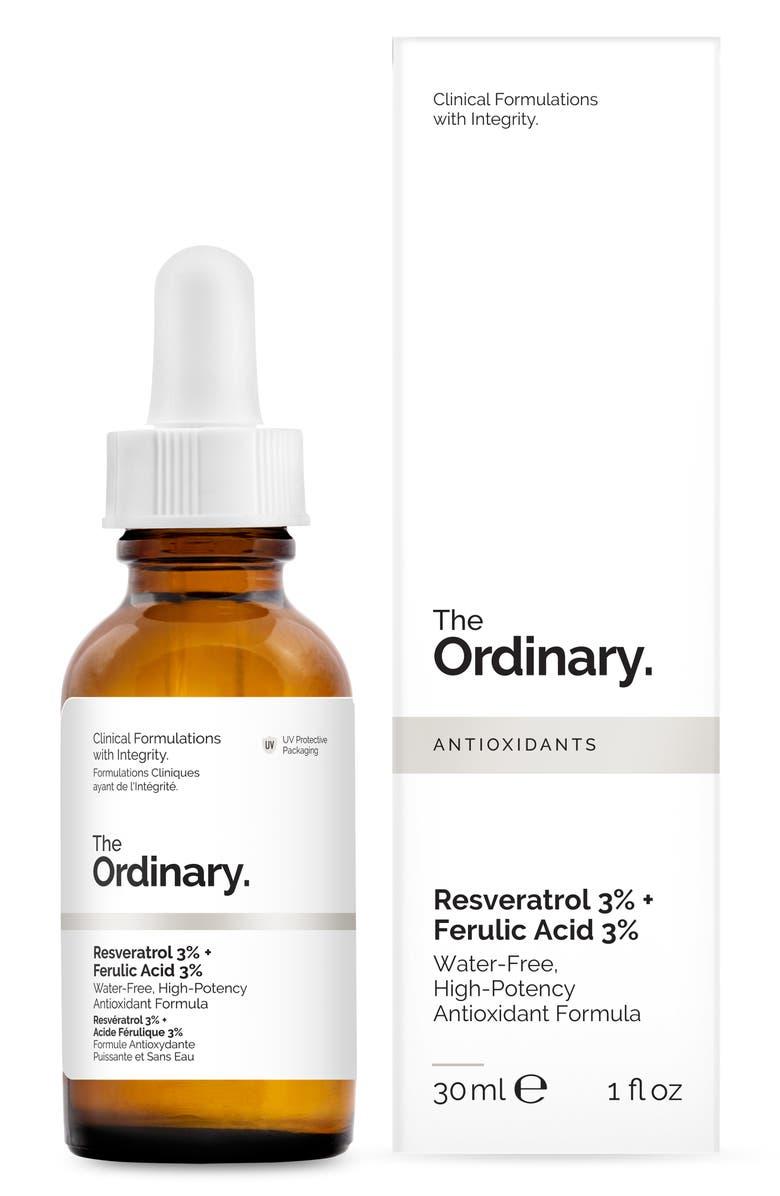 The Ordinary Resveratrol 3 Ferulic Acid 3 Nordstrom