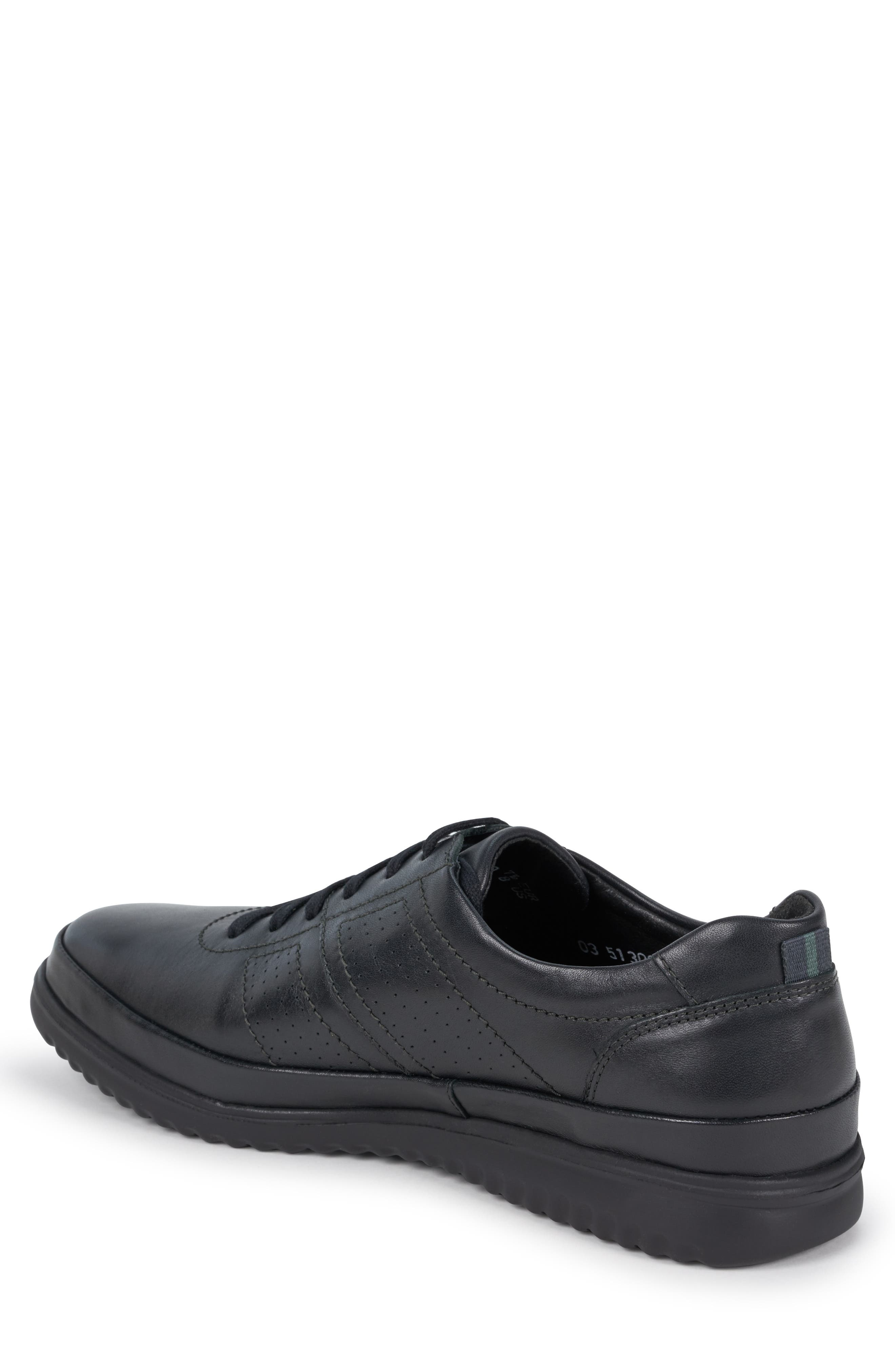 ,                             Tomy Sneaker,                             Alternate thumbnail 2, color,                             BLACK LEATHER