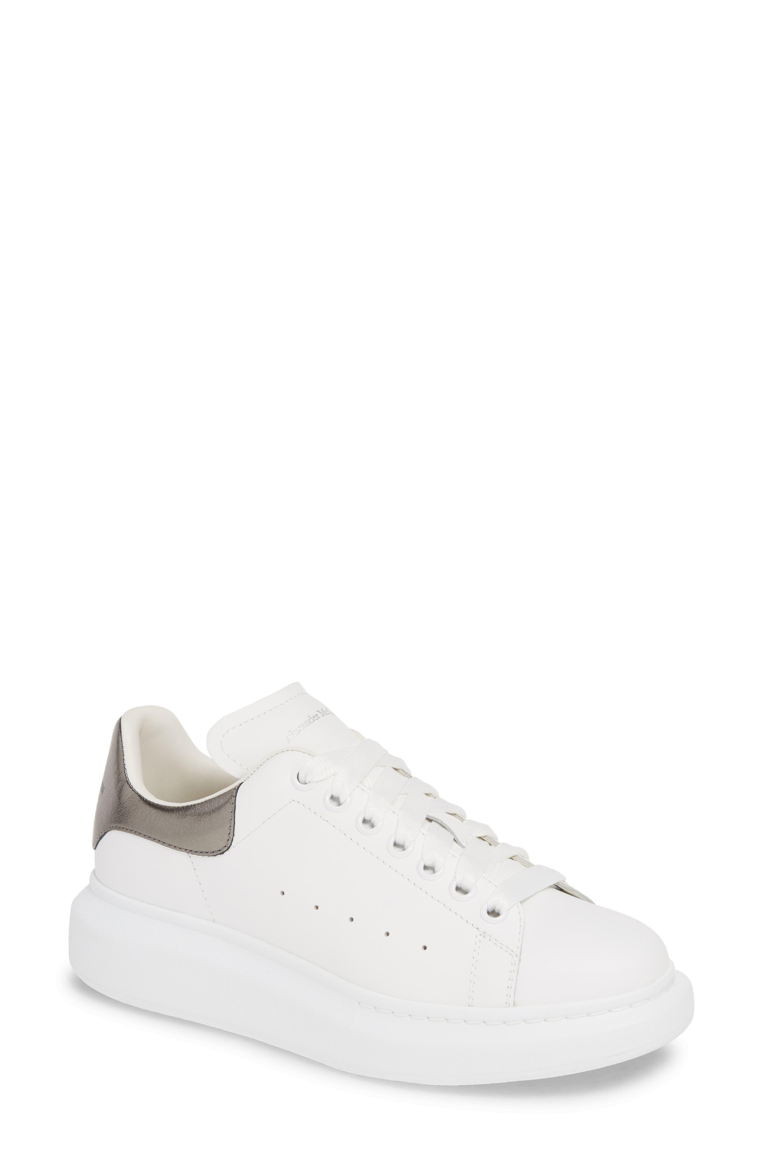 Sneaker, Main, color, WHITE/ BLACK PEARL