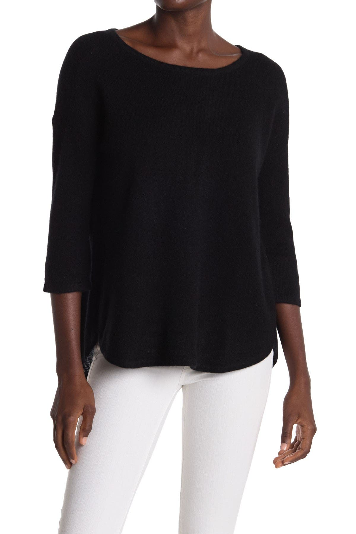 Image of GRIFFEN CASHMERE Boatneck Cashmere Sweater