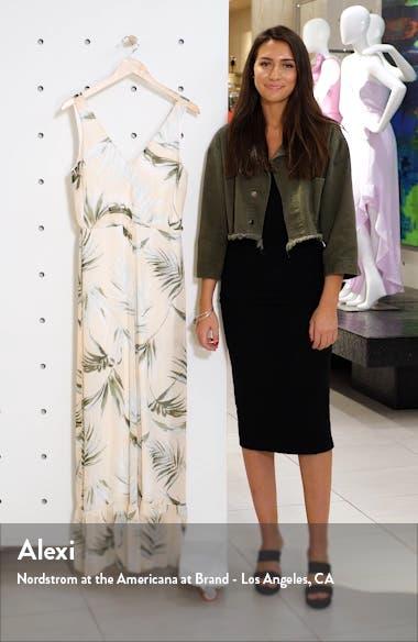 Royal Palm Wide Leg Jumpsuit, sales video thumbnail