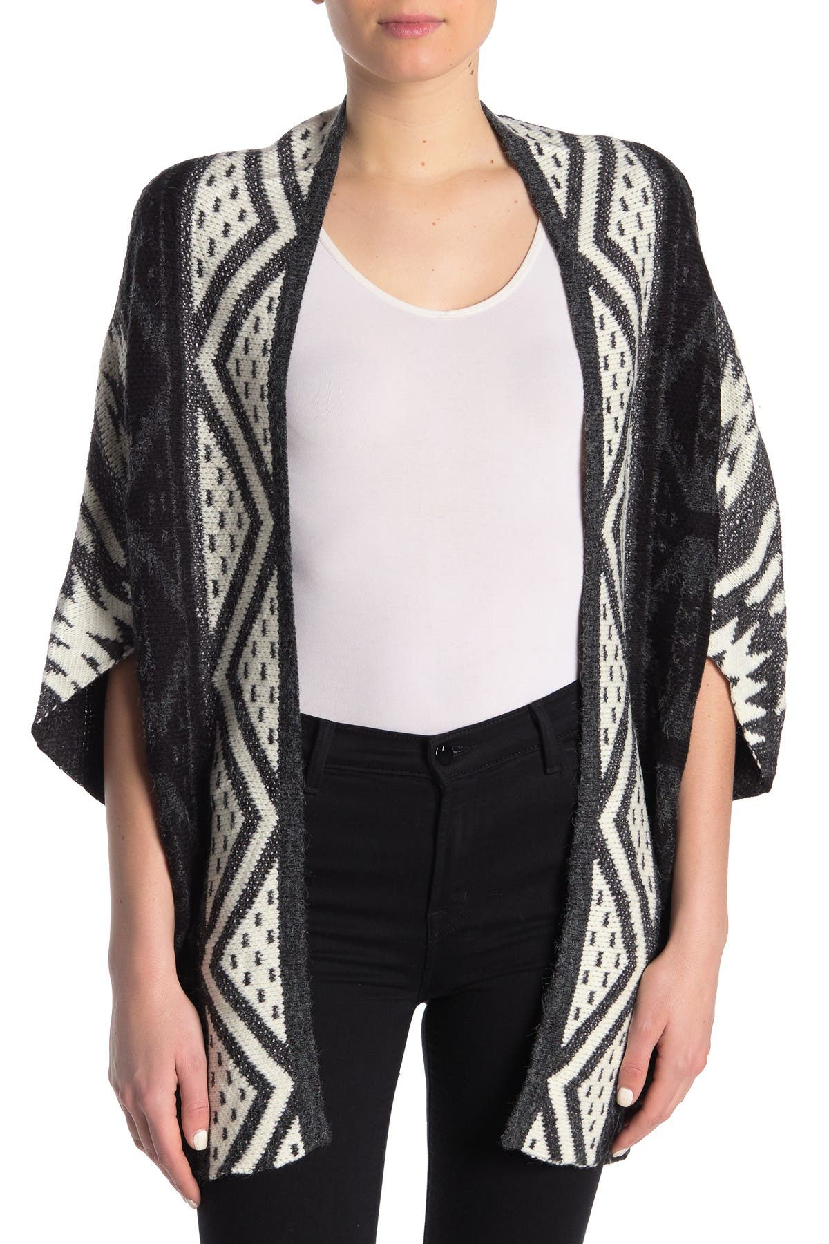 Image of BLVD Poncho Cardigan