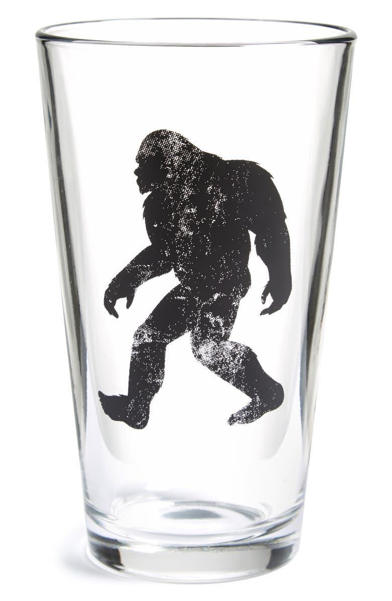 CRAWLSPACE STUDIOS 'Big Foot' Pint Glass, Main, color, 001