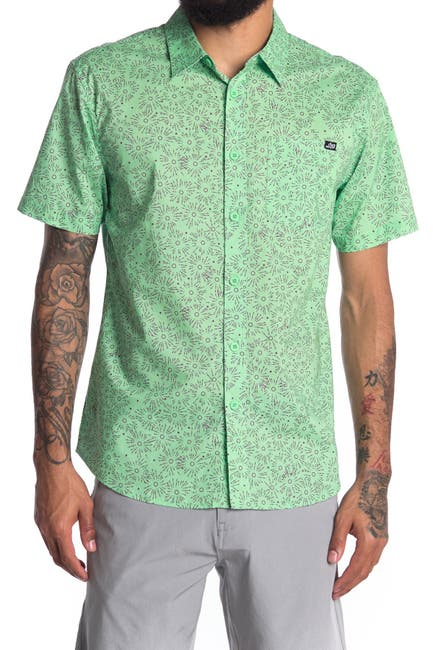 Image of ...Lost High Beam Short Sleeve Woven Shirt