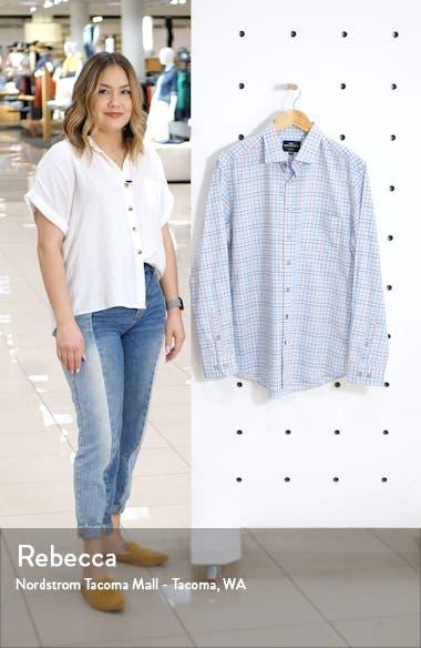 Glen Massey Regular Fit Check Button-Up Shirt, sales video thumbnail