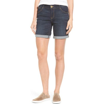 Wit & Wisdom Ab-Solution Cuffed Denim Shorts, Blue (Regular & Petite)(Nordstrom Exclusive)