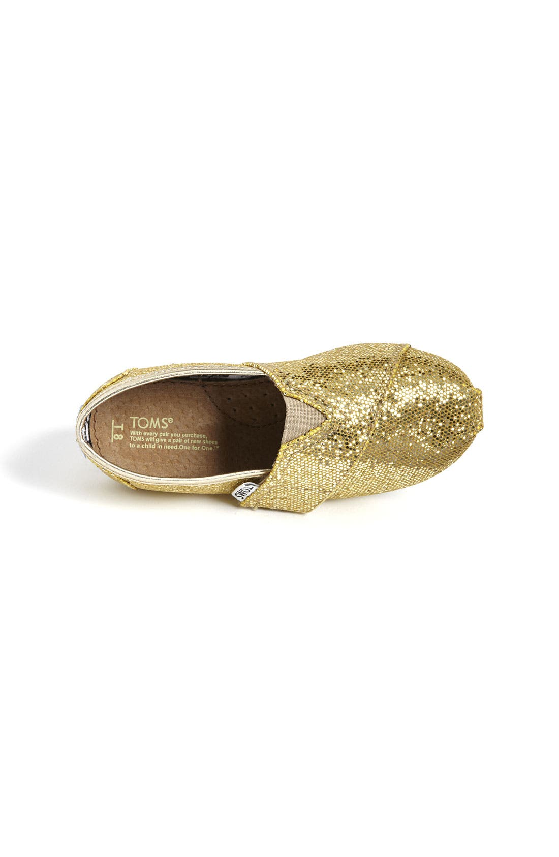 ,                             'Classic Tiny - Glitter' Slip-On,                             Alternate thumbnail 40, color,                             710