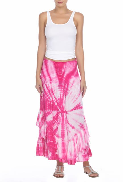 Image of BOHO ME Tie Dye Convertible Cover-Up Skirt/Dress