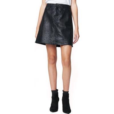 Blanknyc A-Line Miniskirt, 7 - Black