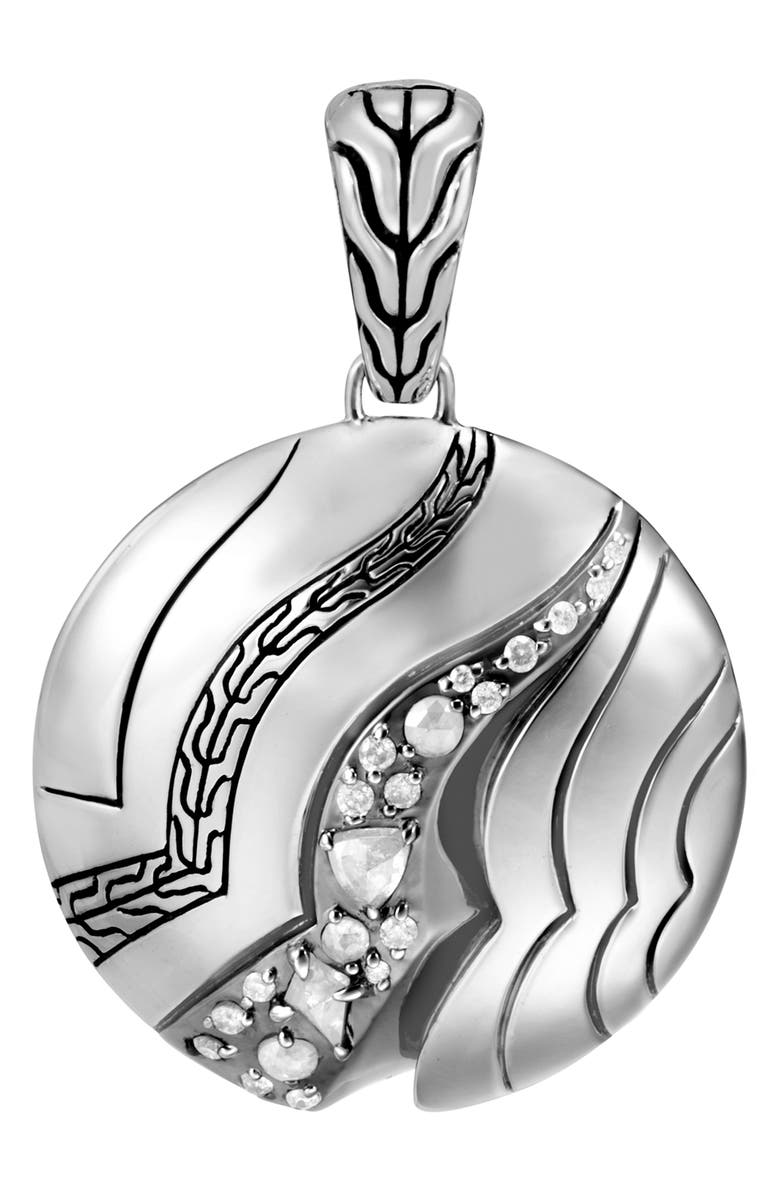 JOHN HARDY Lahar Pendant with Diamonds, Main, color, 040