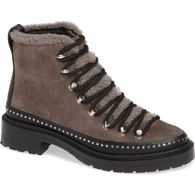 Rag & Bone Compass Genuine Shearling Combat Boot