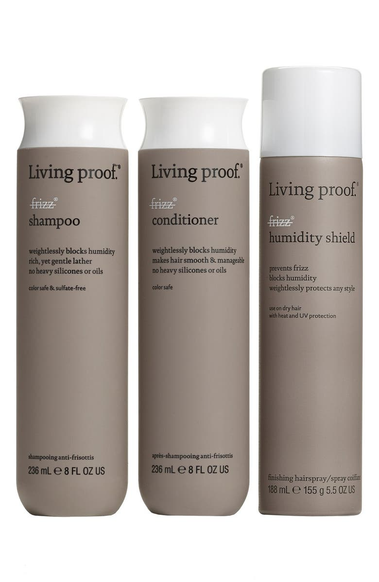 LIVING PROOF<SUP>®</SUP> 'No Frizz' Set, Main, color, 000