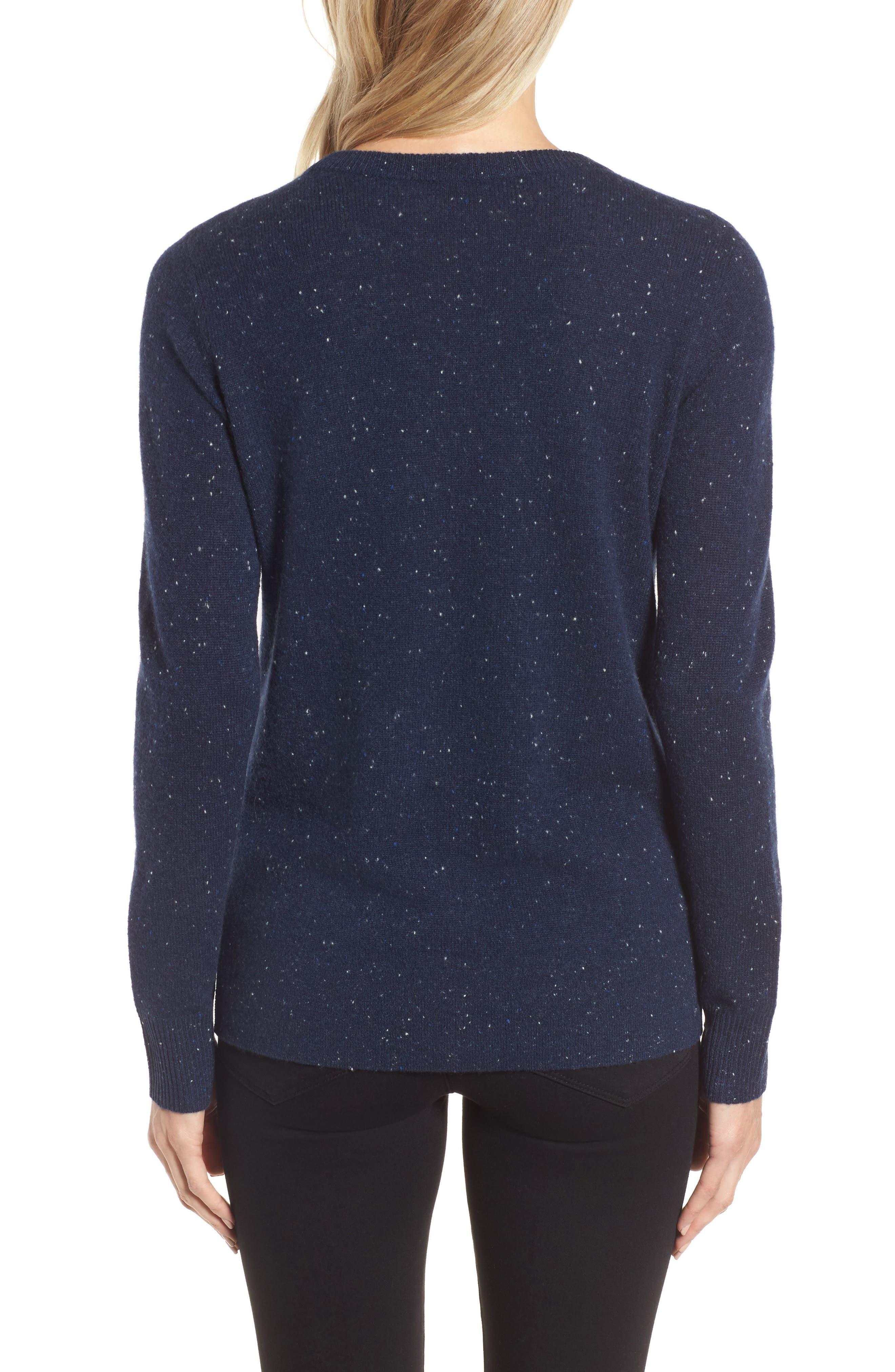 ,                             Crewneck Cashmere Sweater,                             Alternate thumbnail 93, color,                             410