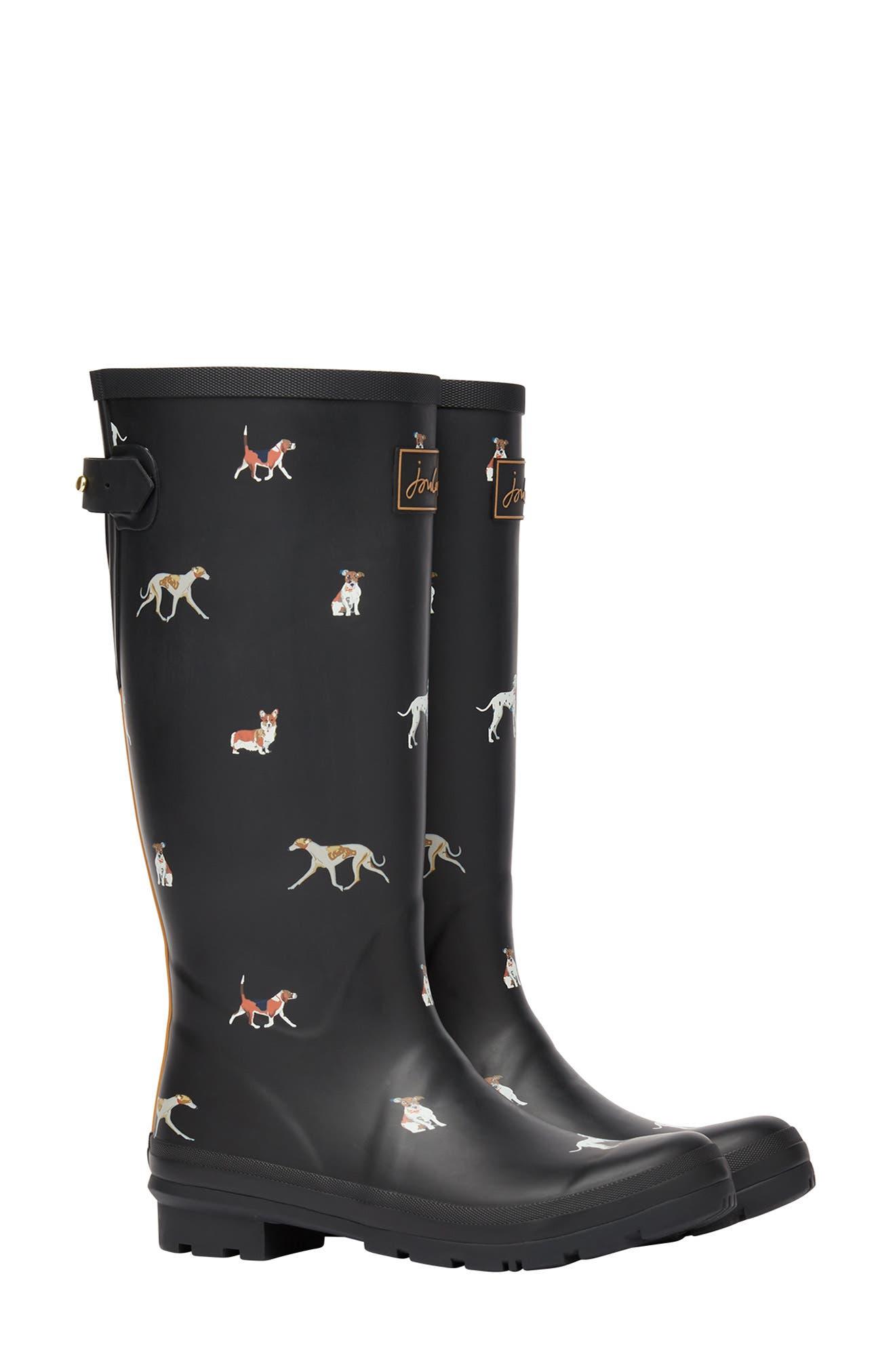 Welly Print Waterproof Rain Boot