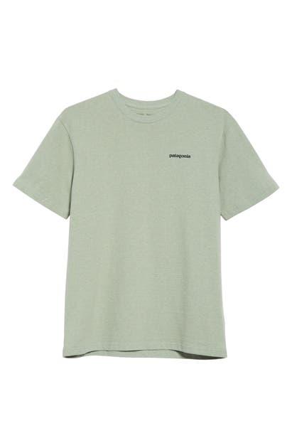 Patagonia P-6 Responsibili-Tee Logo Graphic T-Shirt In Celadon