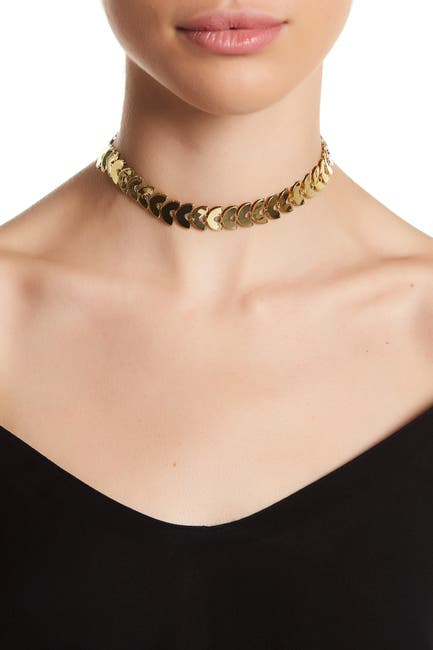 Image of Sterling Forever Continuous Leaf Choker