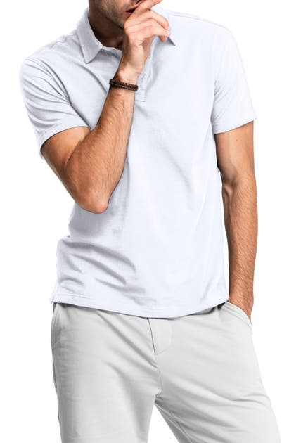 Swet Tailor All-in Stretch Polo Shirt In White