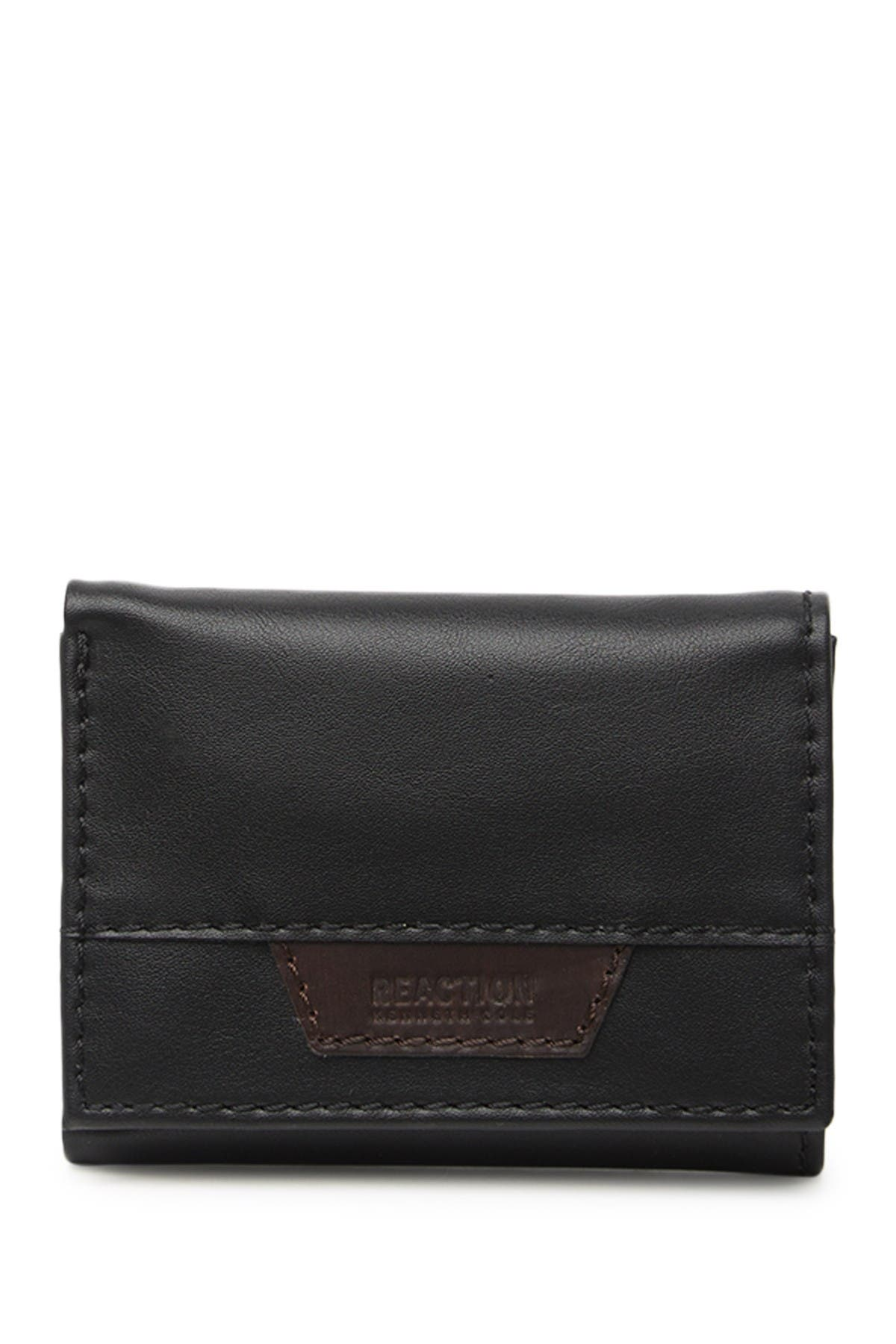 Image of KENNETH COLE Bowery Leather Trifold Wallet