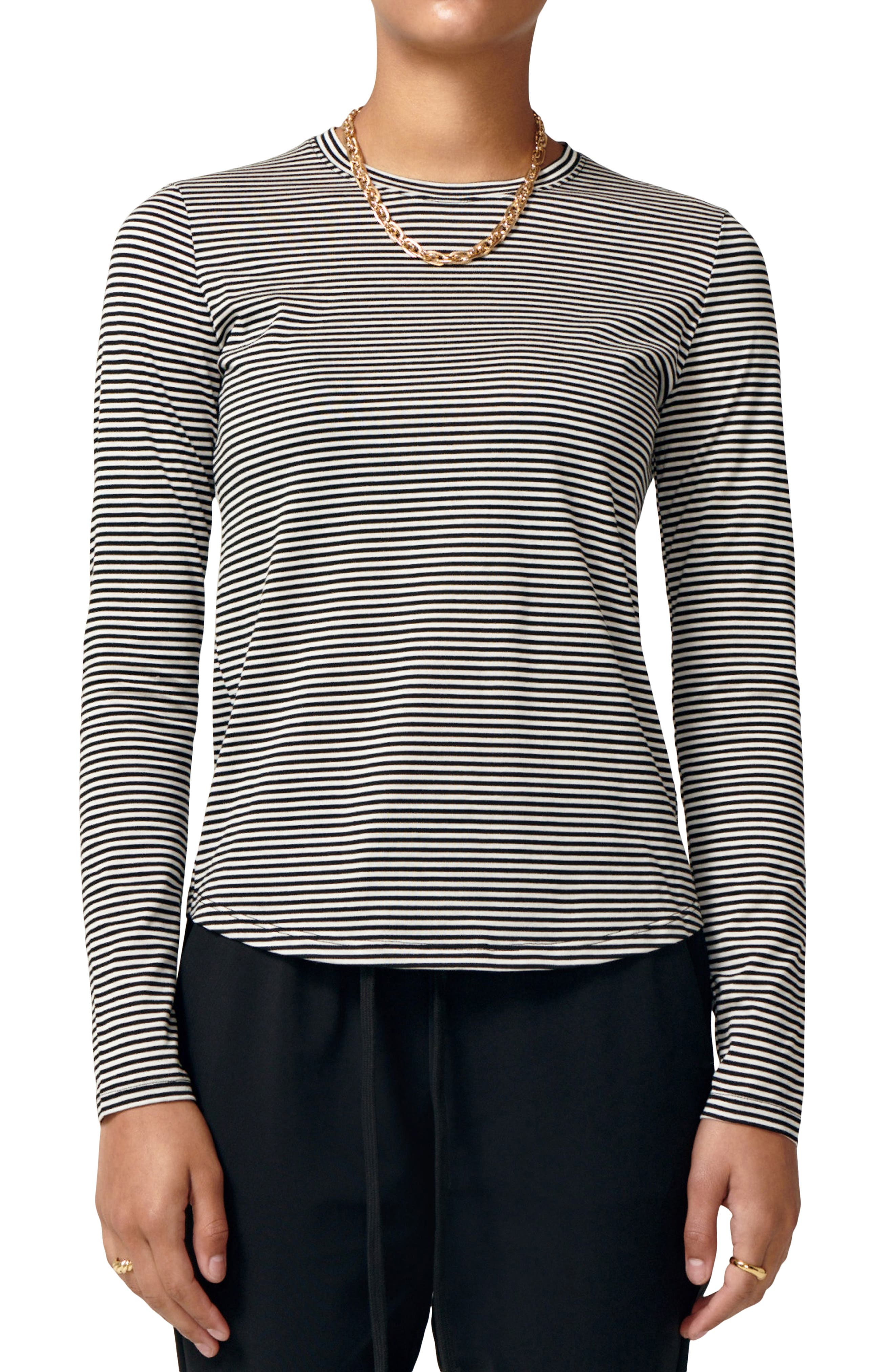In Love Long Sleeve Cotton T-Shirt