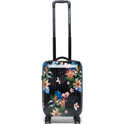 Herschel Supply Co. Trade Summer Floral 21-Inch Wheeled Carry-On Bag - Black